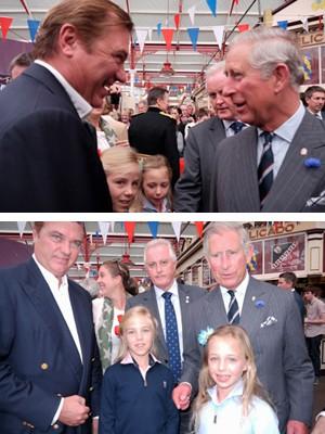 Duke & Duchess of Castro visit Jersey