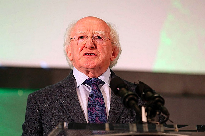 John Kennedy lecture delivered by Michael D Higgins ...