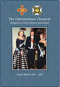 2002-2003 Annual Report of the British and Irish Delegation of the Sacred Military Constantinian Order of Saint George