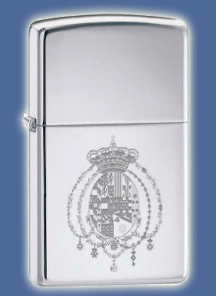 Royal House of Bourbon Two Sicilies Zippo lighter